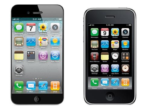 iPhone 5 und 3GS