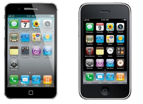 iPhone 5 iPhone 3GS