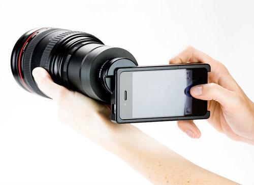 iPhone SLR Adapter