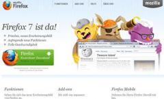 Firefox 7 erscheint im September,