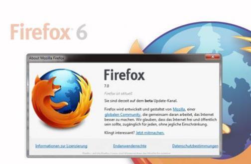 Firefox 7: Beta bereits deutlich