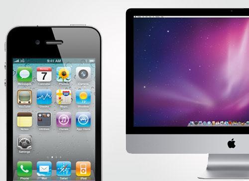 Apple iPhone und iMac
