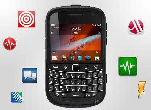BlackBerry und Android Apps
