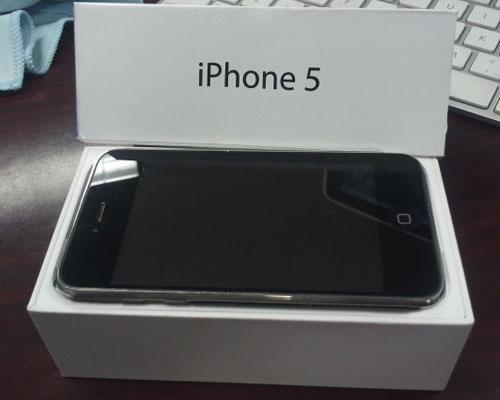 iPhone 5 mit Box