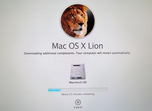 OS X Lion Reinstall