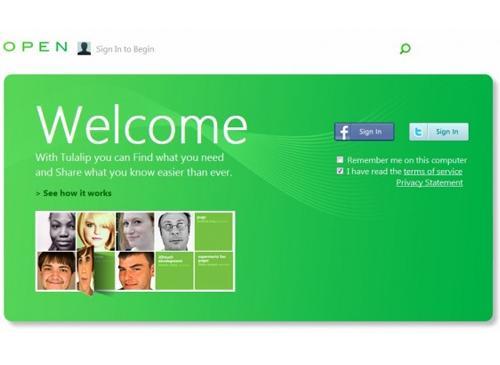 Microsoft Social Network Tulalip.com