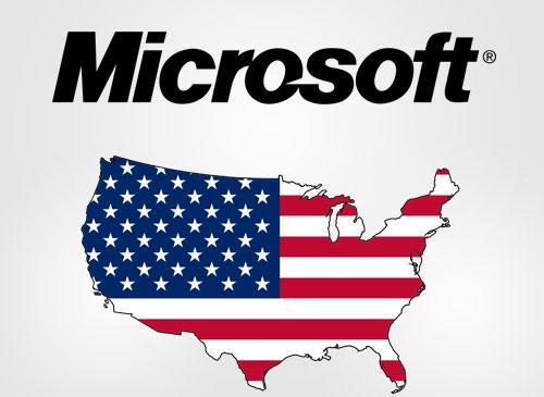 Microsoft und die USA
