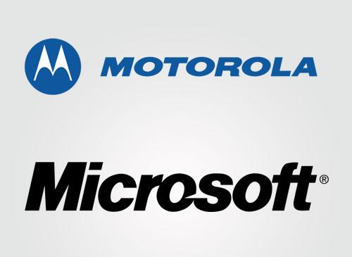 Motorola und Microsoft