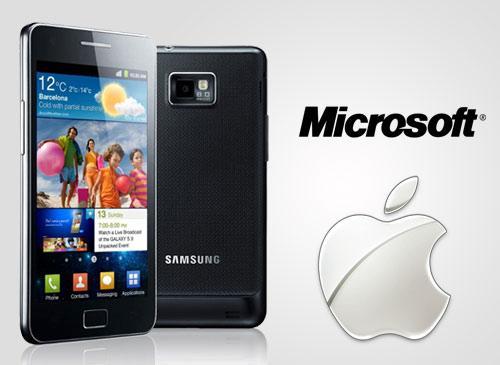 Samsung Galaxy S2 und Apple