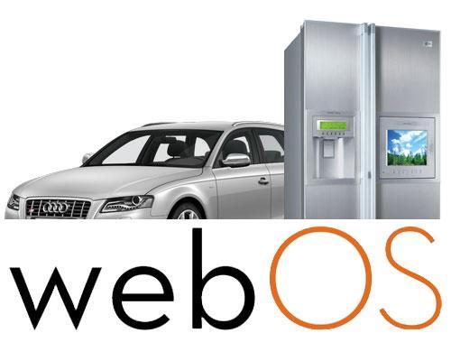 WebOS Logo Auto und Kühlschrank