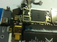 iPhone 5 Foto zeigt Platine