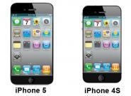 iPhone 5 und iPhone 4S: