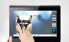 Sony Tablets S und P:
