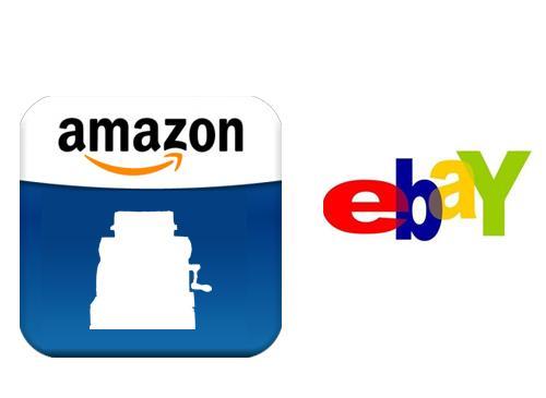 Amazon kassen Logo Ebay logo