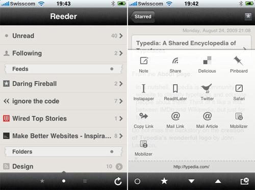 Apple App Reeder