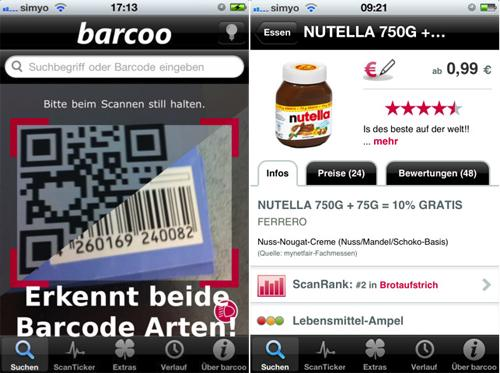 Apple App Barcoo