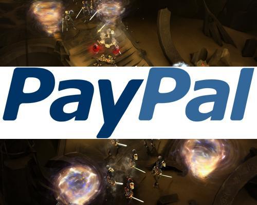Diablo 3 Paypal Logo