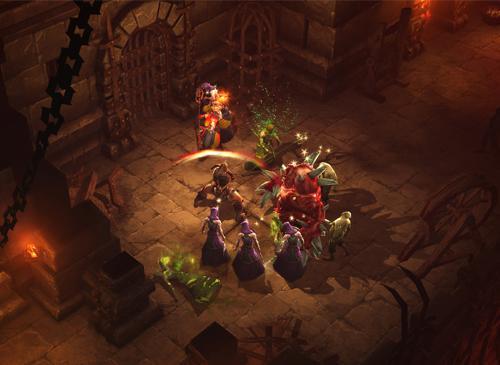 Diablo 3 Screnshot Kampf