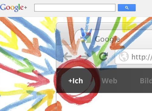 Google+ Suche