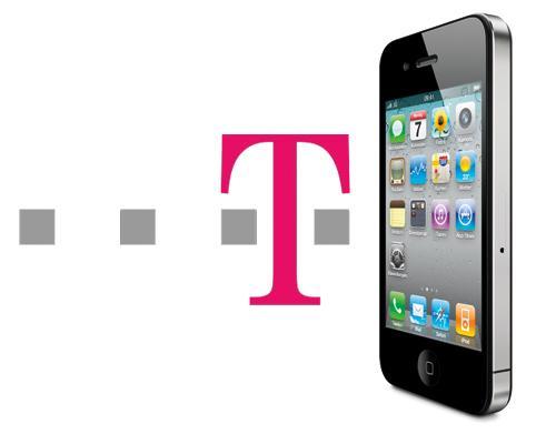 iPhone 4 Telekom Logo