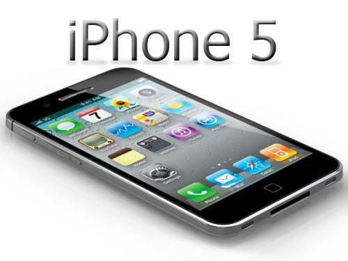 iPhone 5 mit Logo