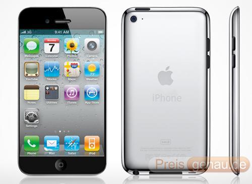 iPhone 5 Ansichten