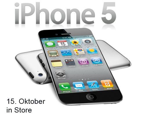 iPhone 5 15 Oktober Erscheinungstermin