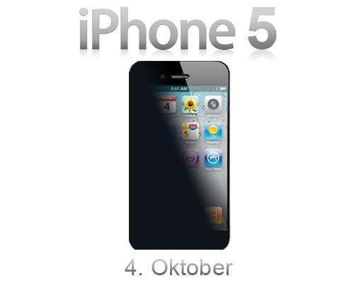 iPhone 5 Prässentations Bild