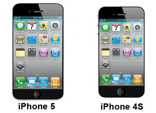 iPhone 5 und iPhone 4S