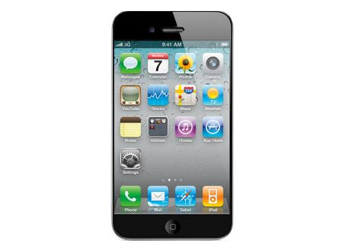 iPhone 5 Frontansicht