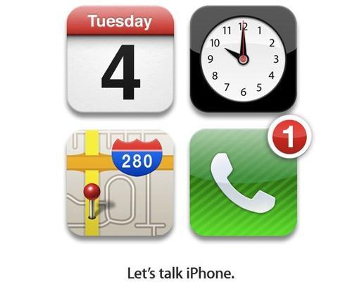 iPhone Prässentations einladungsbild