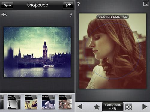 iPhone Snapseed App Apple
