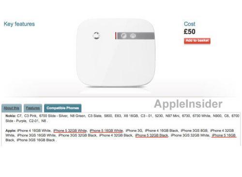 Vodafone Zubehör iPhone 5