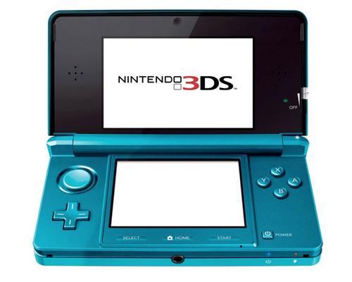 Nintendo 3 DS Blau