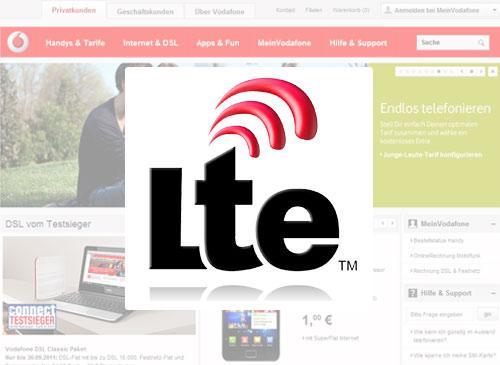 Vodafone und LTE