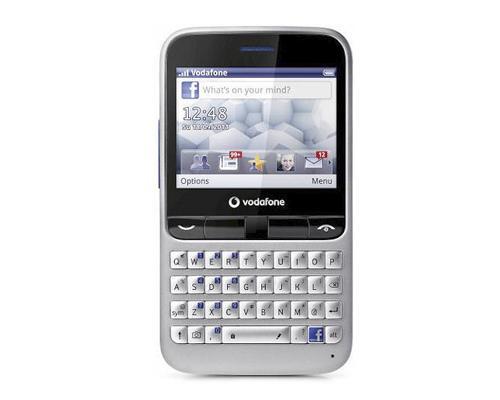 Vodafone 555 Blue Facebook handy