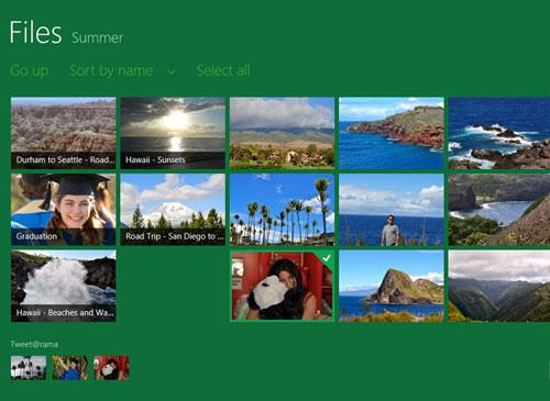 Windows 8 Galeri Screenshot