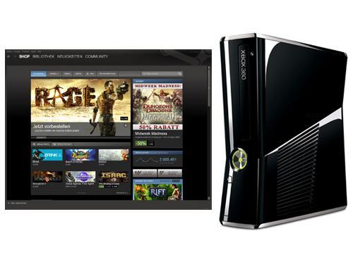 Xbox 360 und Steam