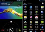Android 4.0 gegen das Apple