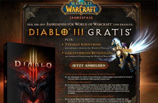 Diablo 3: World of Warcraft