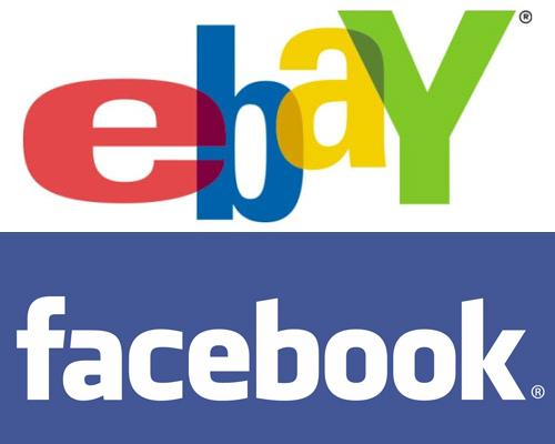 Ebay Facebook logo