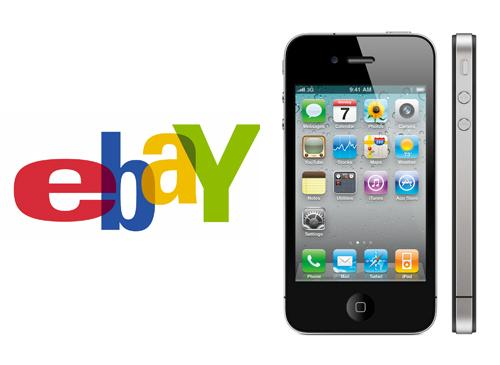 eBay Logo iPhone 4G