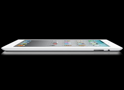 iPad 2 Weiß liegent
