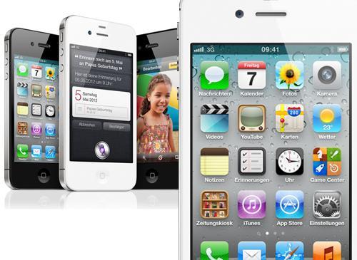 iPhone 4S Ansichtene