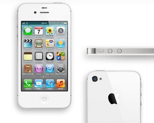 iPhone 4S Weiß Ansichten
