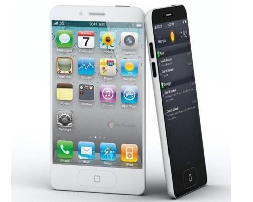 iPhone 5 Weiß ansichten