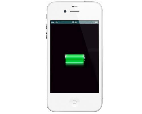 iPhone 4S Laden