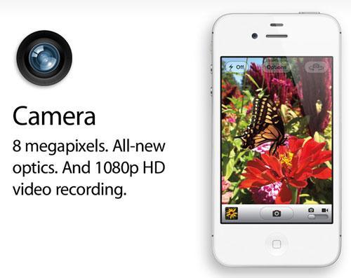 iPhones 4S Kamera