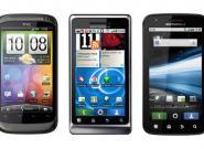 HTC Desire S und Motorola