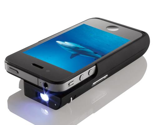 iPhone 4S Projektor Case